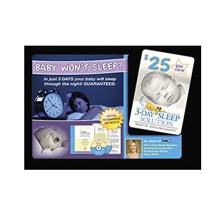 3-Day Sleep Solution Print Mail