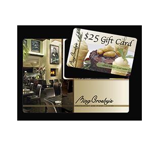 Bing Crosby's Restaurant & Piano Lounge Print Mail