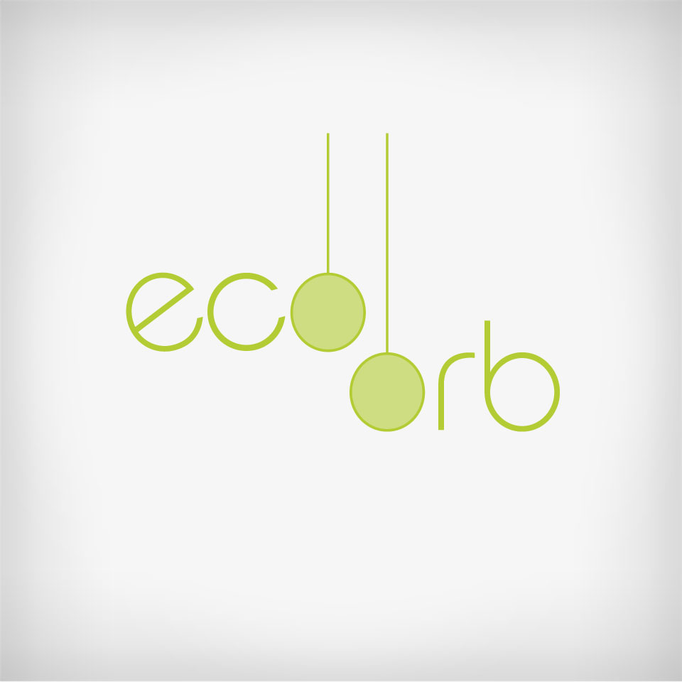A clean, modern, logo design and color theme for the build-your-own eco orb terrarium product line sold at Pigment in North Park, San Diego and online at shoppigment.com.