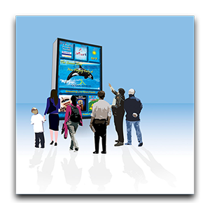 Innovative Media Mix Graphic Illustrations