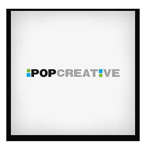 iPop Creative Graphic Logo