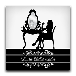 Laura Calles Salon Graphic Logo