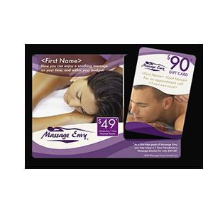 Massage Envy Print Mail