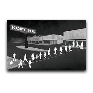 North Park For The Arts Graphic Illustrations