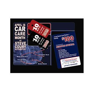 Steve Coury Automotive Print Mail